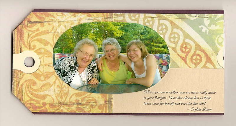 04 My Mother's 64th Birthday Tag Book
