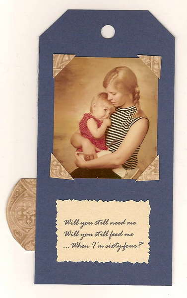 06 My Mother's 64th Birthday Tag Book