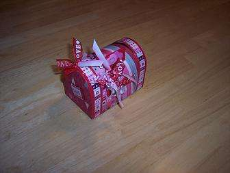 Altered Valentine Mail Box