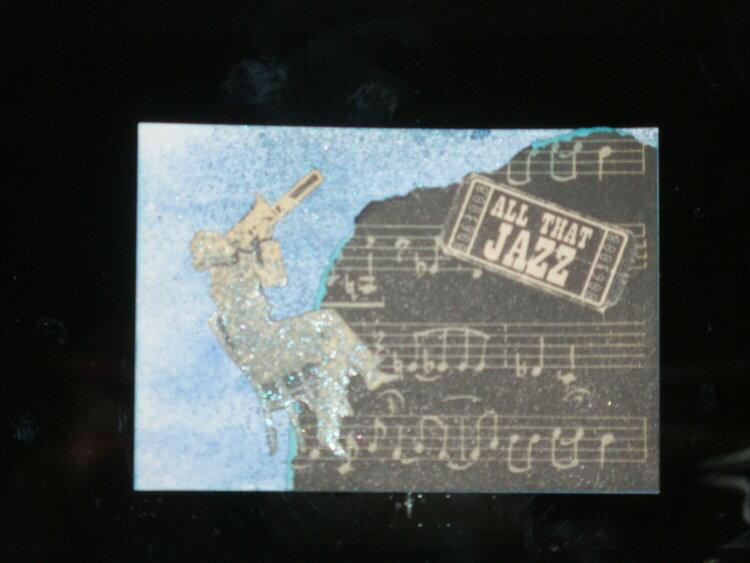 Music Note ATC