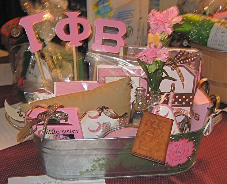 Sorority Basket for Auction/Donation