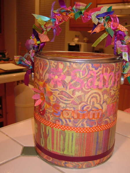 Samm's Rush kit- Altered Paint Can