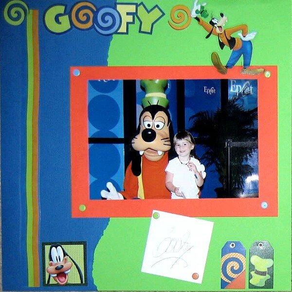 Goofy Disney World May 2006