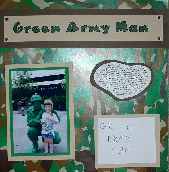 Toy Story, Green Army Man, Disney October 2005