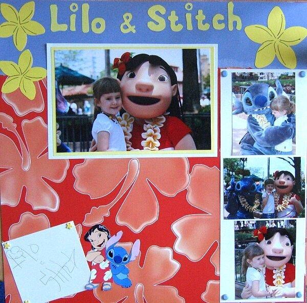 Lilo & Stitch Disney World May 2006
