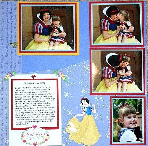 A Snow White Kiss, Disney May 2005