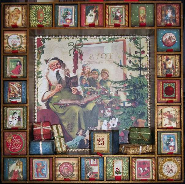 Advent Calendar with Reversible Boxes - Side 2