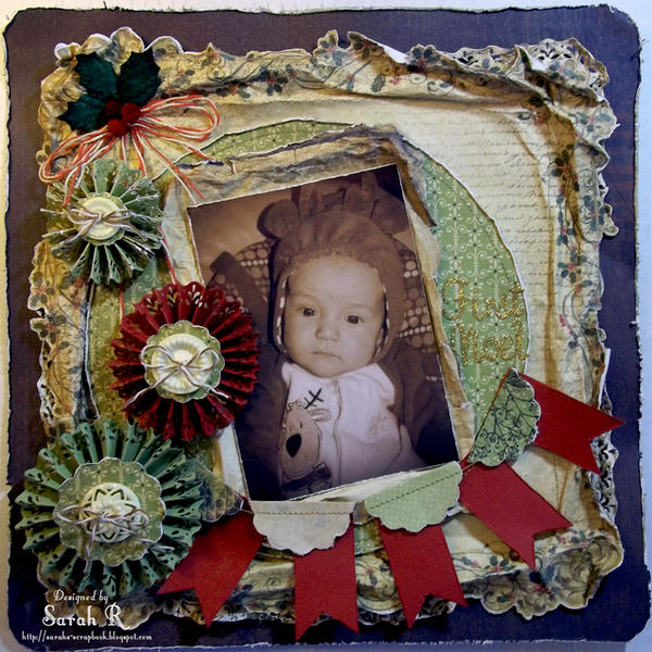First Noel ~~ScrapThat! December Kit~~