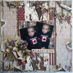 I AM Canadian - The Paper Mixing Bowl July 2012 Recipe Challenge