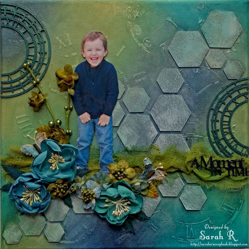 A Moment in Time Canvas ~~~Imaginarium Designs and Lindy's Stamp Gang~~~