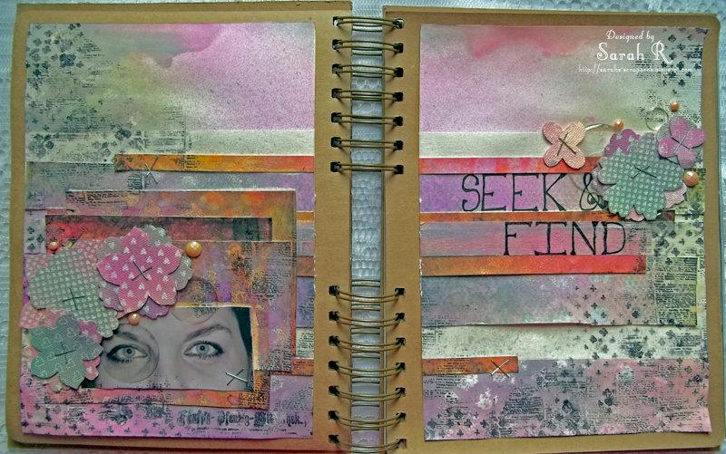 Seek & Find ~ Art Journal Page