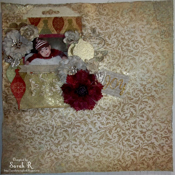 Joy ~~ScrapThat! December Kit~~