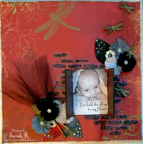 You Hold The Key To My Heart ~~ScrapThat! November Kit~~