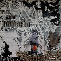 Pick Your Pumpkin ~~Scraps of Darkness October