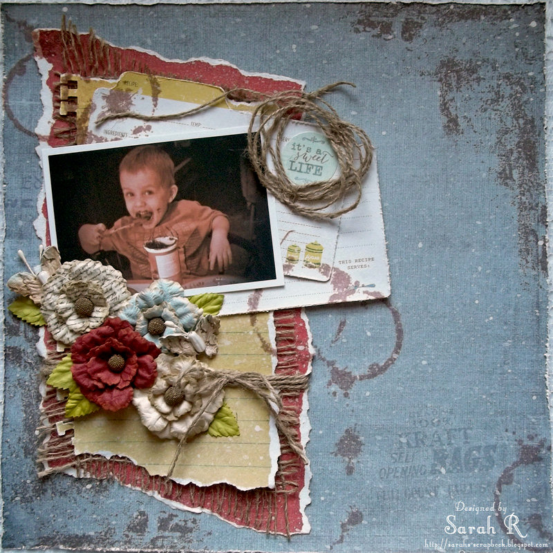 it's a Sweet Life ~~Scraps of Darkness August Kit~~