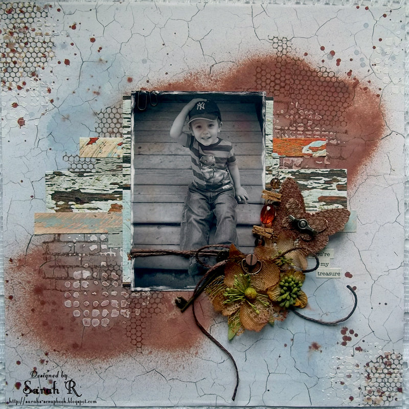 You're My Treasure ~Scraps of Darkness Rustic Kit~