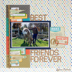 Best Friends Forever Layout - Leaky Shed Studio