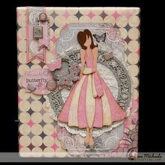 Julie Nutting Be Classy Mixed Media Canvas by Juliana Michaels
