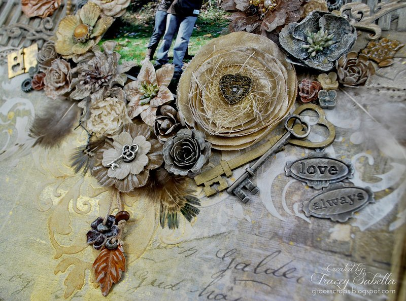 """""""Love Always"""" with Weathered Chipboard"""