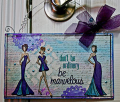 Be Marvelous Door Hanger