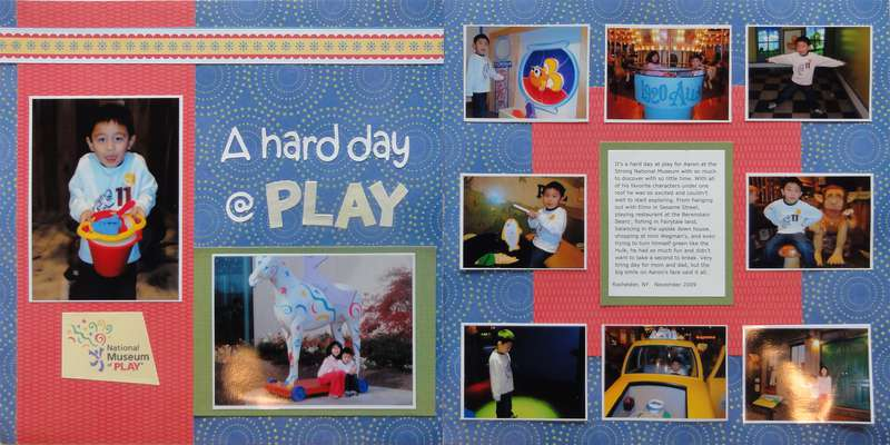 A Hard Day @ Play