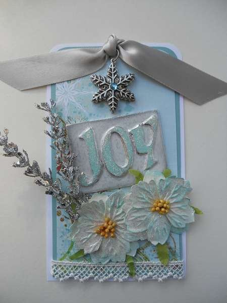 Holiday Inspiration Day One:  Joy Tag