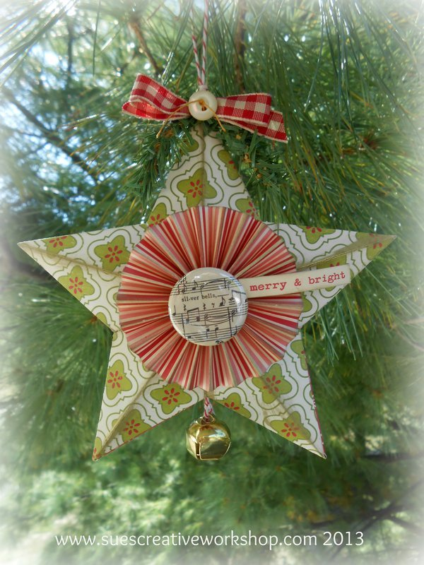 3-D Star Ornament