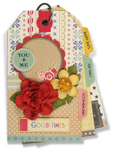 Paper Blossoms 5 & Dime Tag Book