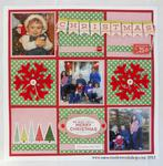 Christmas Quilt Layout