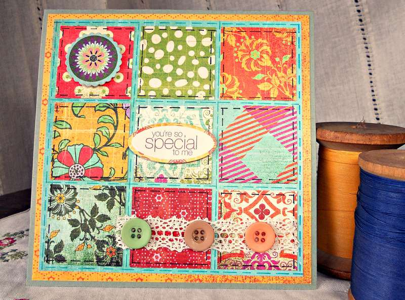 Patchwork Card