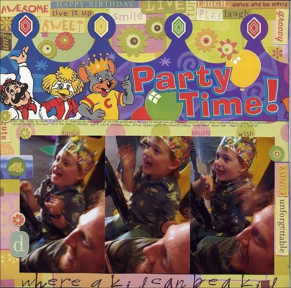 "Party Time! ""where a kid can be a kid"" - Brenda Walton"