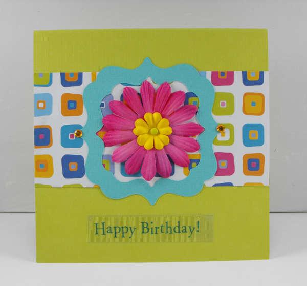 A Bright Happy Birthday Card