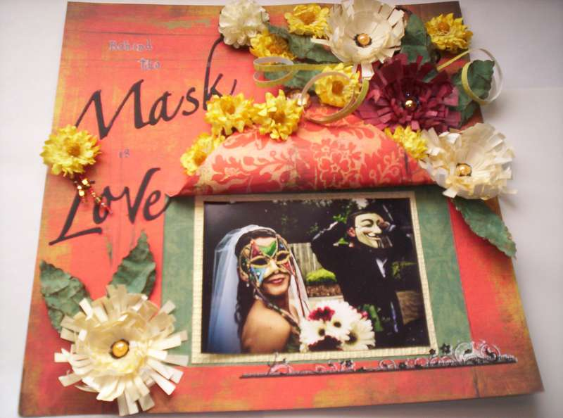 Behind the Mask is Love
