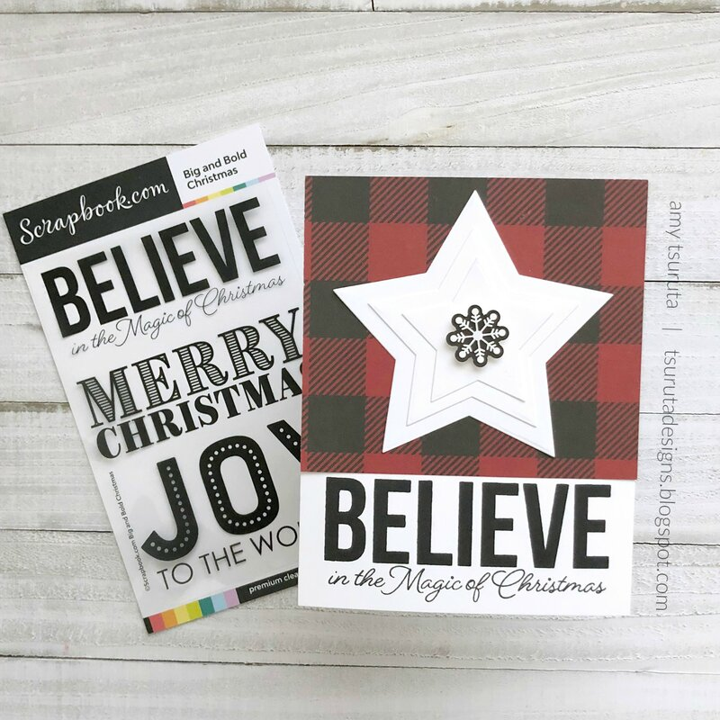 The Handmade Holiday Papercrafting Parade : Believe