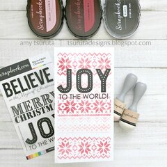 The Handmade Holiday Papercrafting Parade : Ballet Joy