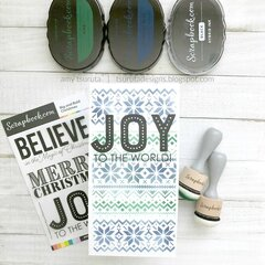 The Handmade Holiday Papercrafting Parade :  Pine Joy
