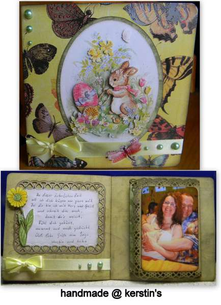 Easter card for my mother-in-law