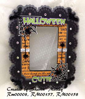 Halloween Cutie Frame