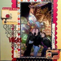 Girls Night Out Vegas Style