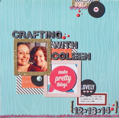 Crafting With Coleen 12/13/14