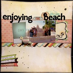 *Enjoying the Beach