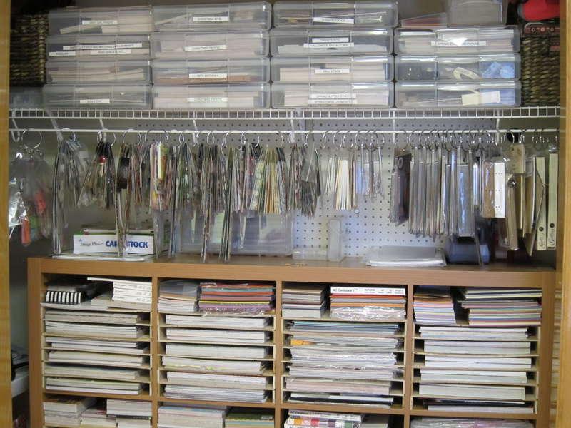 Shower hooks as embellishment hangers