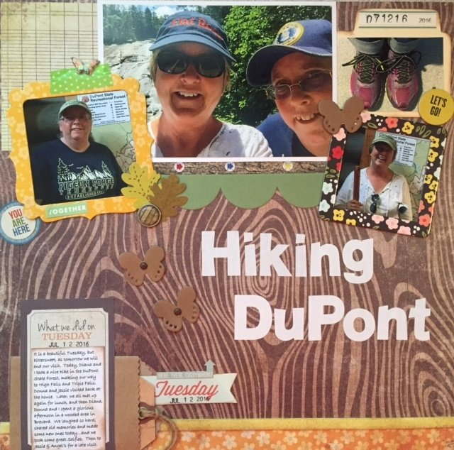 Hiking DuPont Forest