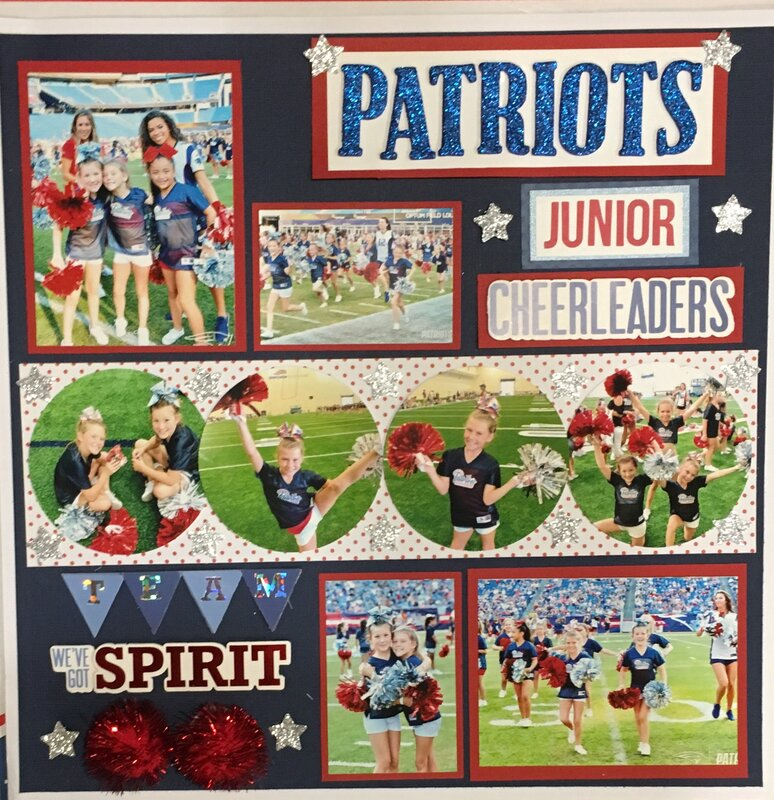 Junior Patriots Cheerleaders!