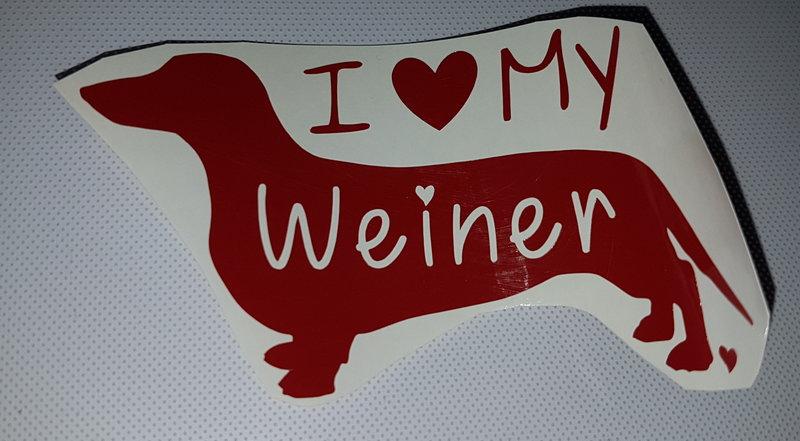 i Love my Weiner