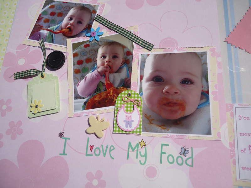 i love my food