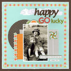 Happy Go Lucky - by Julie Bonner