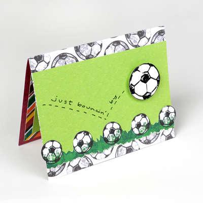 Soccer Card - by sei