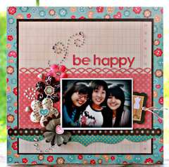 Be Happy - **My Little Shoebox - Sew Cute **