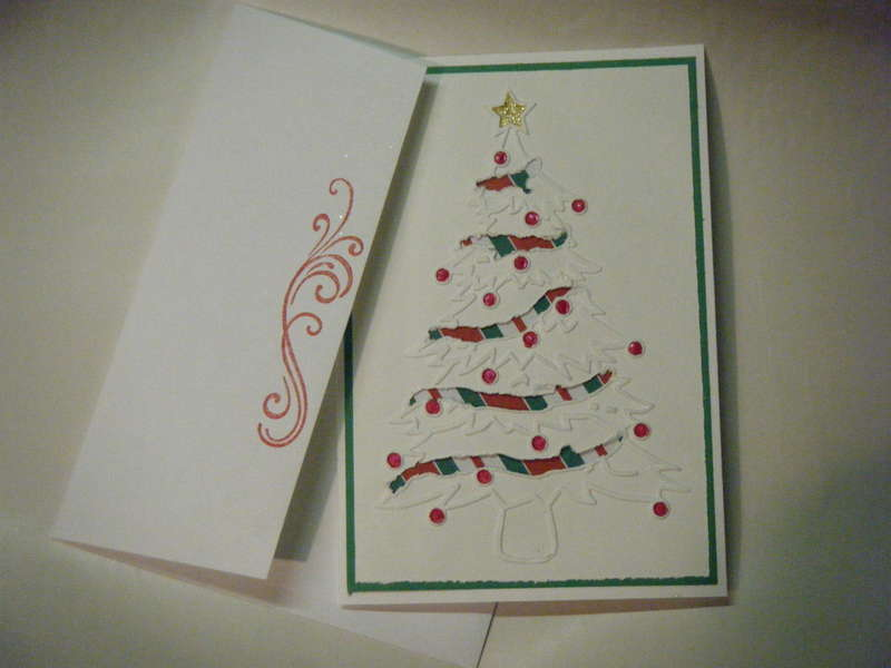 Christmas Tree Card Challenge